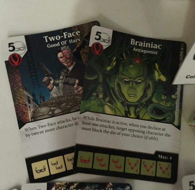 Dos Caras y Brainiac