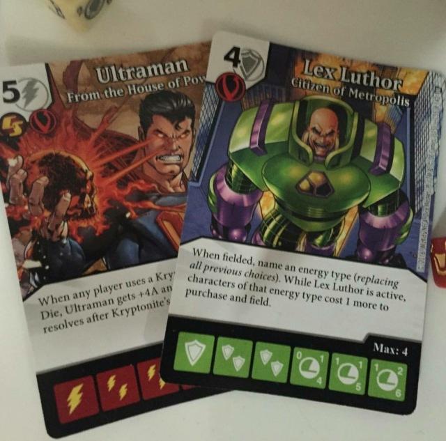 Ultraman y Lex Luthor