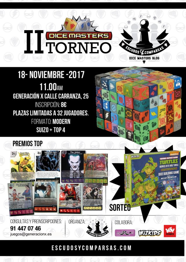 cartel dicemasters tournament